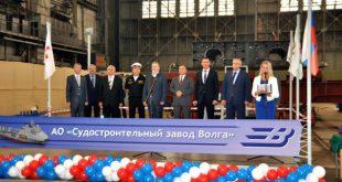 Видеорепортаж с нижегородского судостроительного завода «Волга» о строительстве танкеров проекта 03182