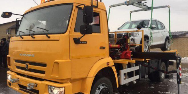 40 автомобилей-эвакуаторов, КАМАЗ поставил МВД
