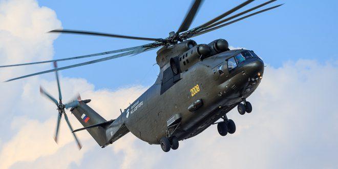 До конца года Минобороны согласует техническое задание на МИ-26Т2В