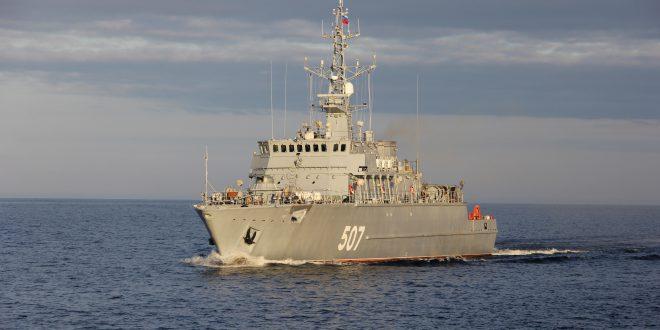 Головной корабль ПМО проекта 12700 принят в состав ВМФ России