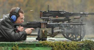 Испытания нового российского пулеметапрошли наполигоне воВладимирской области