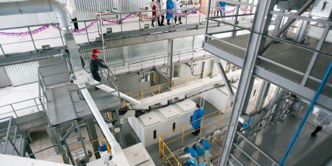 Комбикормовый завод запущен в Алтайском крае
