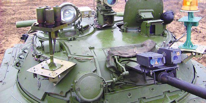 Лазерный имитатор стрельбы из танков и БМП испытают на Урале