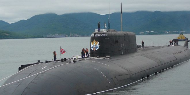 По стрельбам крылатыми ракетами подлодка «Томск» признана лучшей в Тихоокеанском флоте
