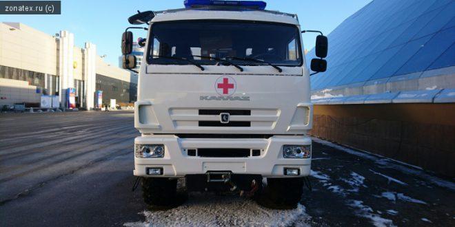 Представлена «Скорая помощь» на шасси КАМАЗ