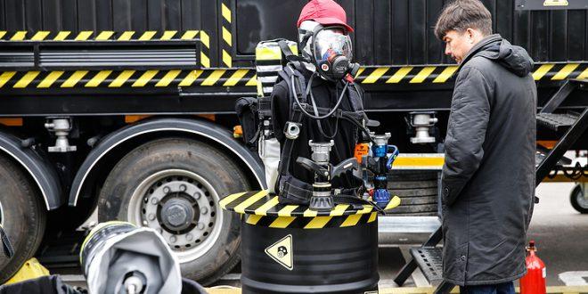 """Робот со способностью """"видеть"""" радиацию"""
