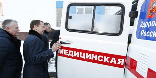 Школьные автобусы и машины скорой помощи переданы Оренбургской области