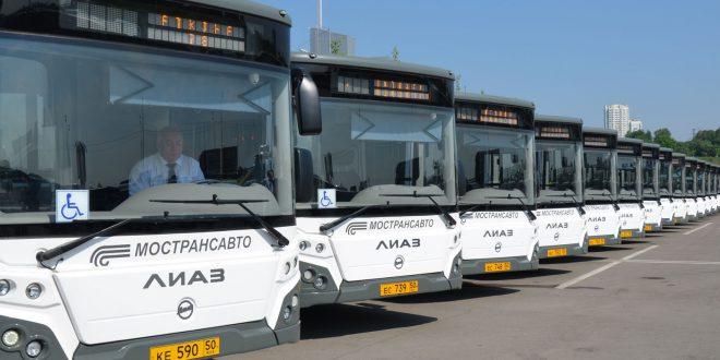 Системой Глонасс оснастят подмосковные автобусы