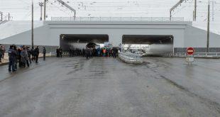 В Воронежской области открыт тоннель на два года раньше срока