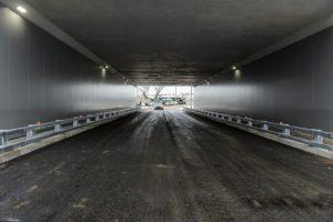 В Воронежской области открыт тоннель на два года раньше срока1