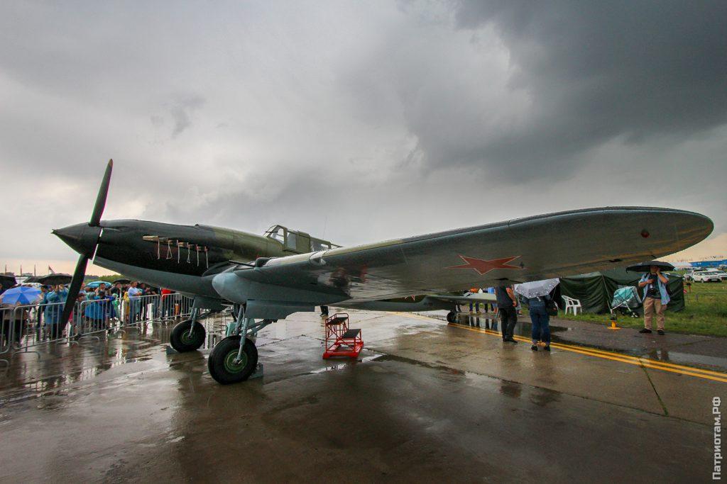 ил-2 летчика скопинцева