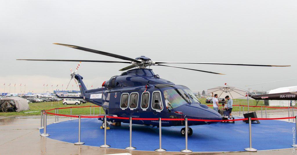 AW139 — одна из флагманских моделей компании Leonardo