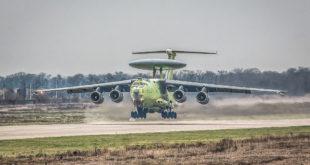 18 ноября 2017 года совершил первый полет самолет радиолокационного дозора и наведения нового поколения А-100