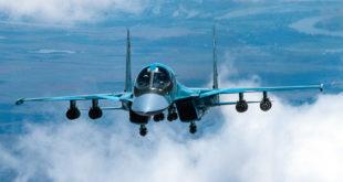 Компания «Сухой» передала ВКС России еще одну партию фронтовых бомбардировщиков Су-34