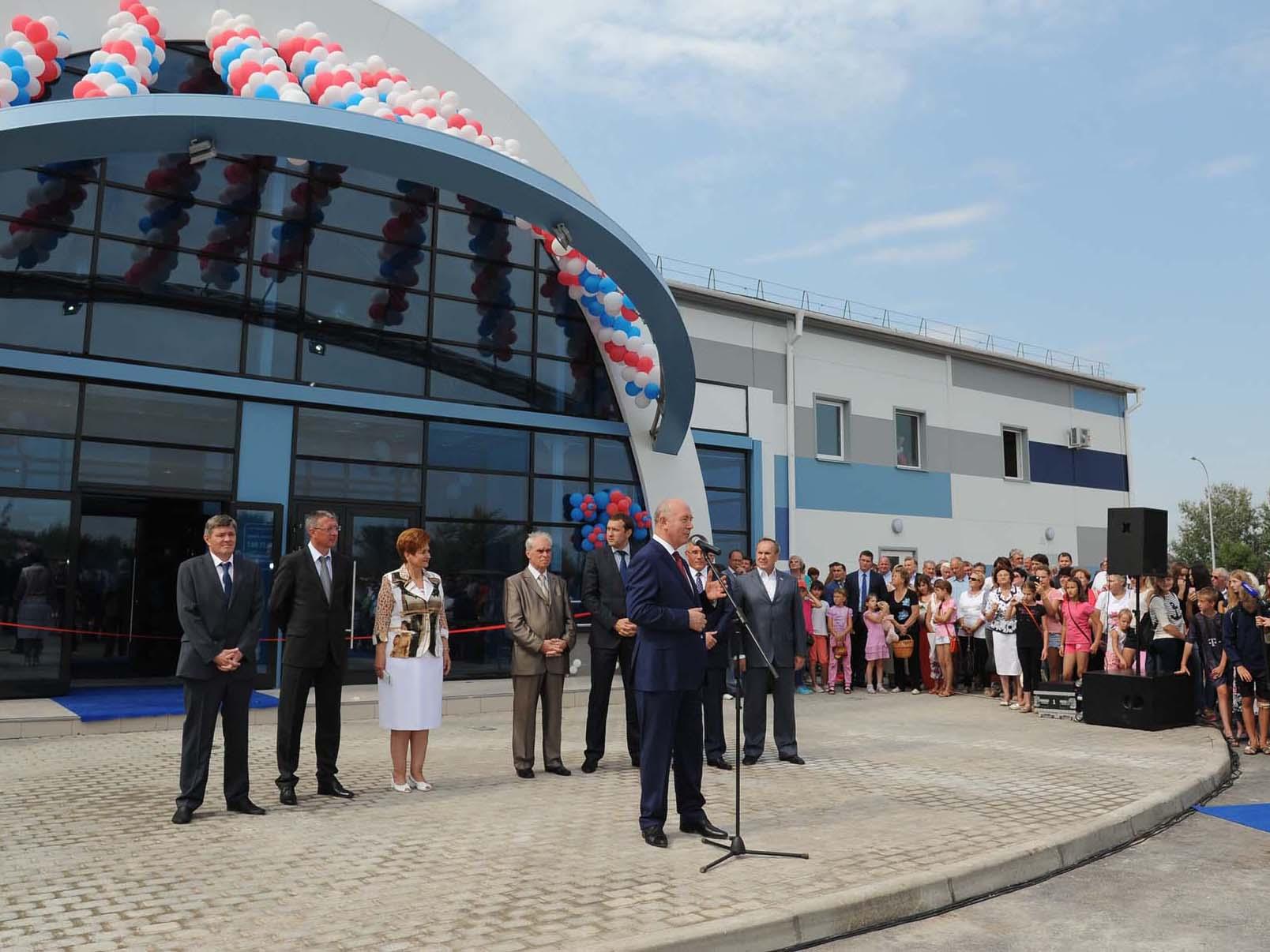 В Самарской области открылась новая ледовая арена