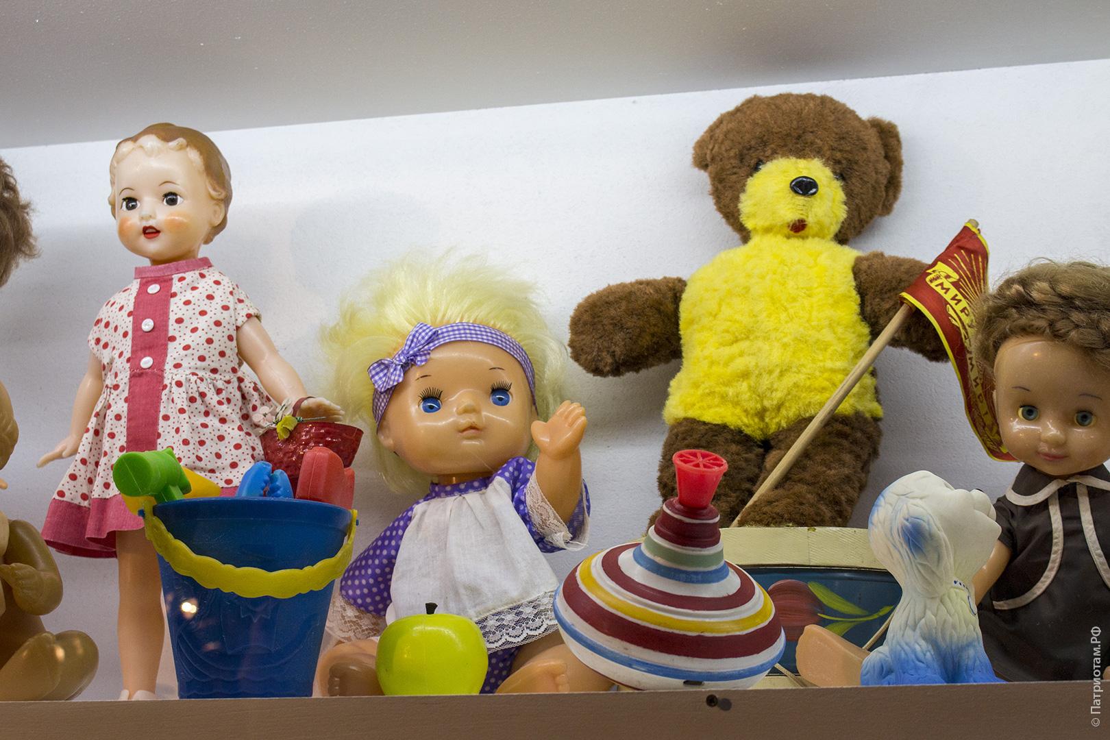 Картинка игрушки советских времени