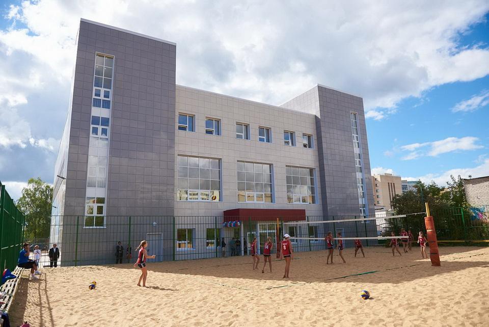 В Калужской области открылся спортивный комплекс для пляжных видов спорта