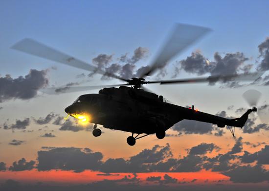 Новые вертолеты Ми-8МТВ-5 поступили в войска Южного военного округа