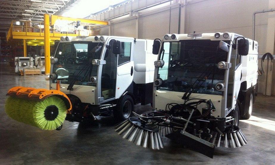 На заводе компании «Меркатор» открыли новую производственную линию по выпуску городской уборочной техники
